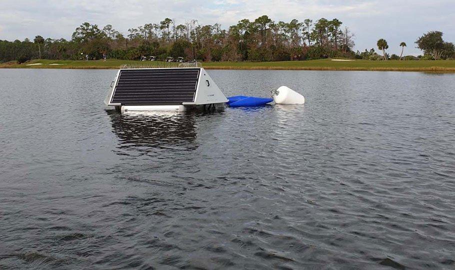 Ultrasonic Buoys installation