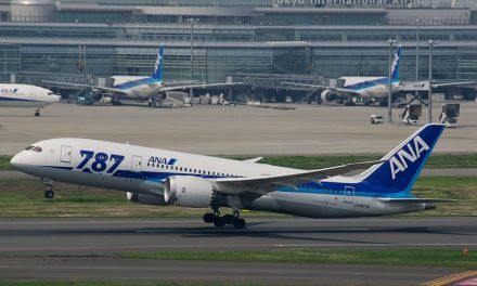All Nippon Flight 使用新的 ASTM 标准藻类燃料