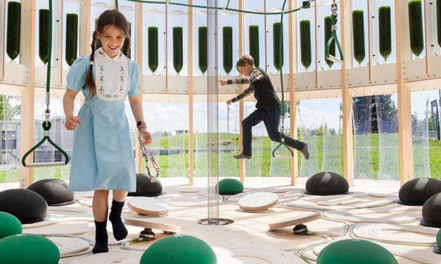 ecoLogicStudio's Microalgae Airbubble Playground